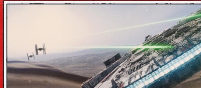 En Internet se filtraron imágenes de cómo lucirán Han Solo y Chewbacca en Star Wars episodio VII: El despertar de la fuerza, la cual se estrenará el 18 de diciembre de 2015 y está dirigida por J.J. Abrams