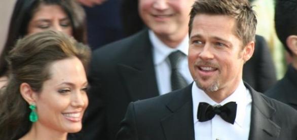 Angelina Jolie e Brad Pitt casaram em Agosto.