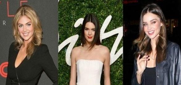 Kate Upton, Kendall Jenner y Miranda Kerr