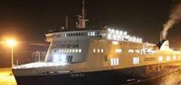 El ferry Norman Atlantic es italiano.