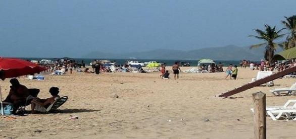 Playa de Puerto La Cruz en Venezuela