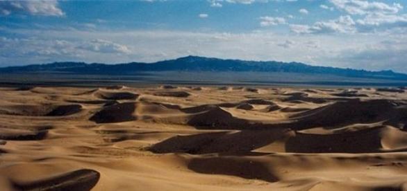 Gobi, un deșert rece a lumii