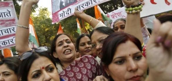 Manifestações após caso de estupro em Nova Deli