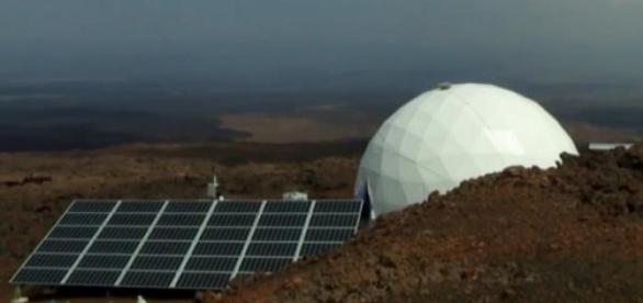 missão a Marte simulada no Havaí