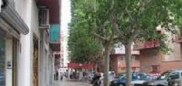 Barrio de las Fuentes en Zaragoza.