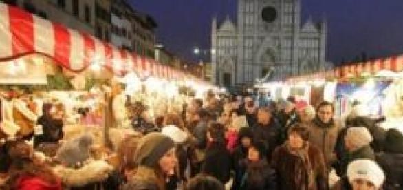 Il mercatino tedesco a Firenze