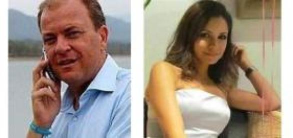 José Antonio Monago y su ex-amante colombiana