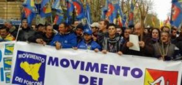 Lo sciopero dei Forconi al via il 5 dicembre