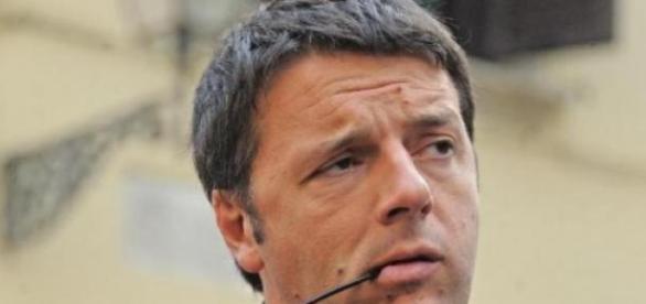 Nella foto, il premier italiano Matteo Renzi