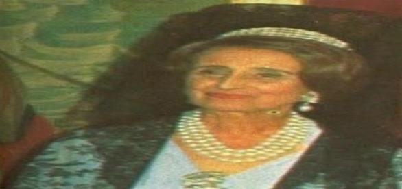 Carmen Polo, esposa del dictador Francisco Franco.