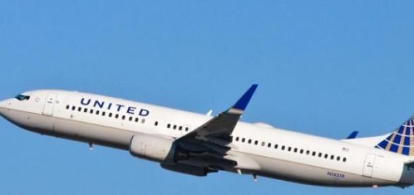 Imagen de un avión de la compañía demandante