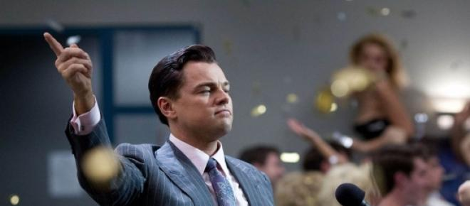 Leonardo Di Caprio, en 'El lobo de Wall Street'