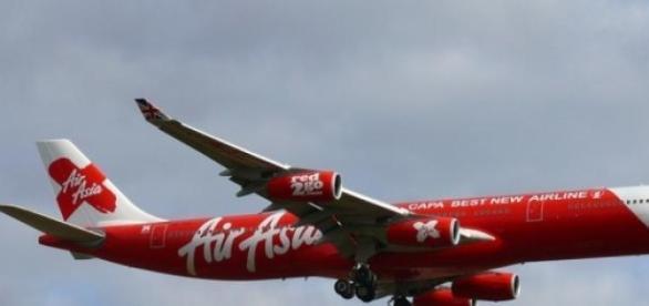 Air asia plane heading to Heathrow