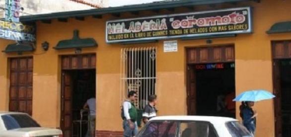 Cierre de la heladería Coromoto en Venezuela
