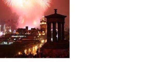 Edinburgh's New Year fireworks' display