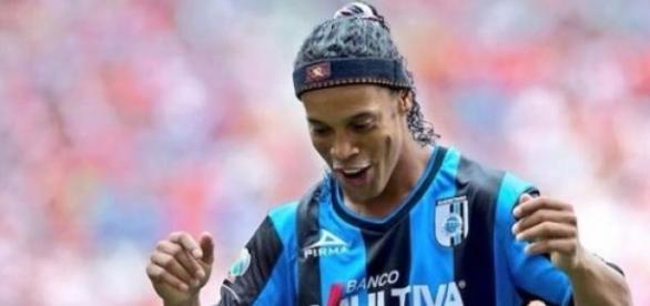 Ronaldinho que siga la fiesta en México