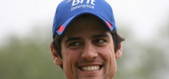 Alastair Cook, a relieved man  © The Sport Review