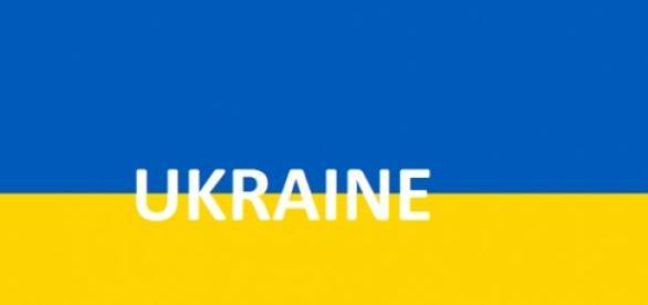 Drapeau de l'Ukraine retouché