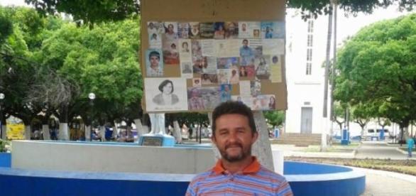 Roberto Souza Brito, criador da Expo-Morte