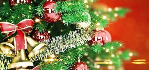 Decoraciones de Navidad sin costo.