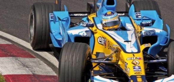 Fernando Alonso en el año 2006.