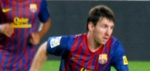 Leo Messi fue el goleador del partido