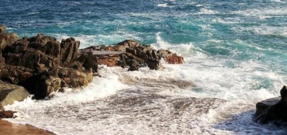 Costa del Mar Mediterráneo, lugar del naufragio