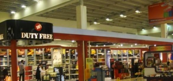 Tienda Duty-free en Singapur.