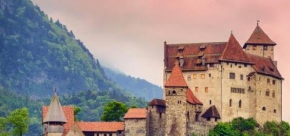 Castillo en Liechtenstein.