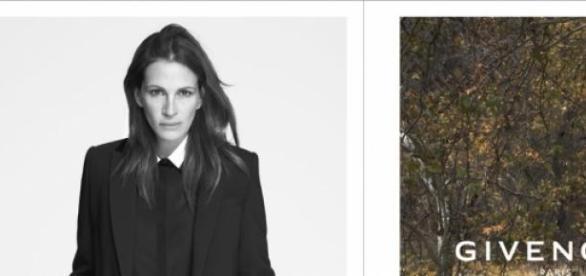 Julia Roberts la nueva imagen de Givenchy 2015.