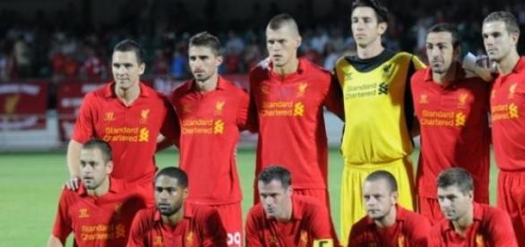 Liverpool Football club players