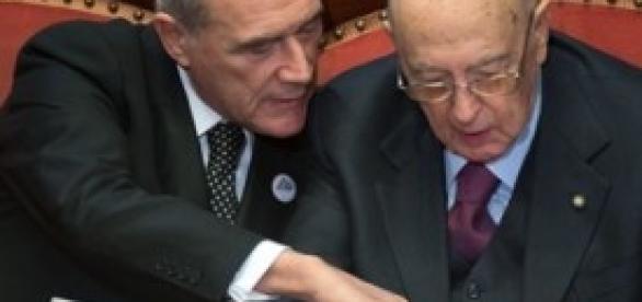 Indulto e amnistia, Grasso e Napolitano