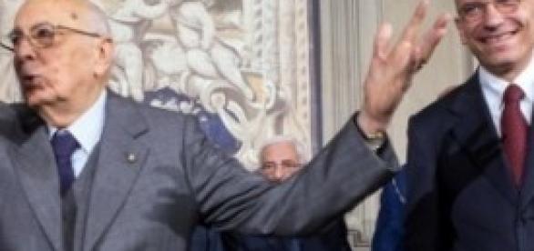 Governo Napolitano-Letta: commedia