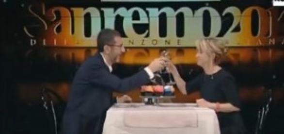 Fazio e Littizzetto presentano Sanremo 2014