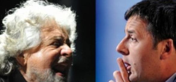 Incontro di consultazione Renzi-Grillo