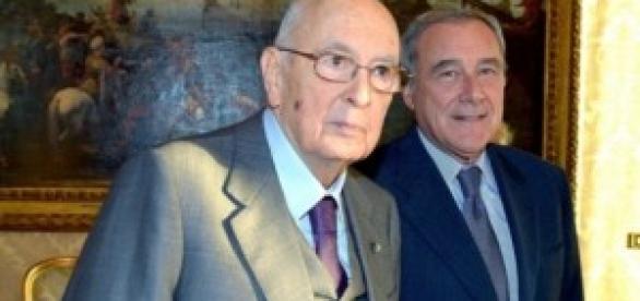 Indulto e amnistia 2014, Napolitano e Grasso