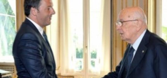 Indulto e amnistia, Napolitano e Renzi