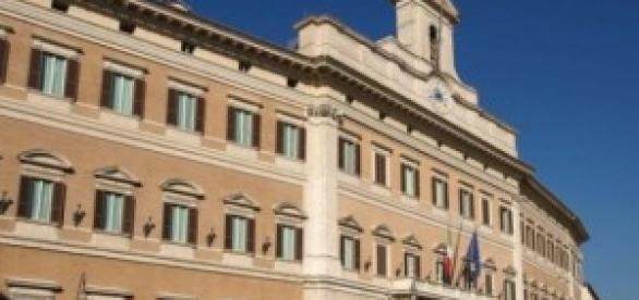 Montecitorio sede del Parlamento