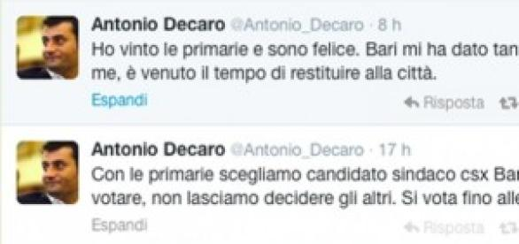 Il tweed di felicità di Antonio Decaro