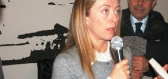 Giorgia Meloni leader di Fratelli D'Italia