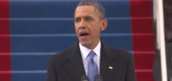 Barack Obama in un recente intervento