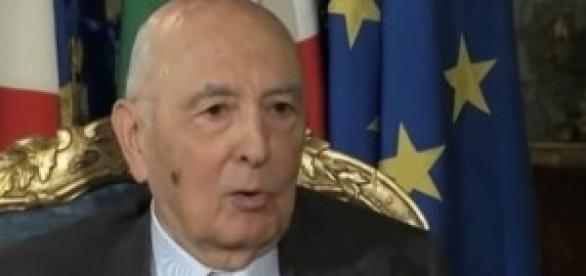 Napolitano in un'intervista