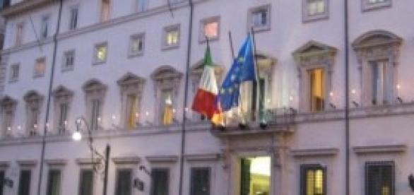 Palazzo Chigi sede del governo