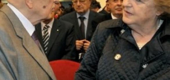 Napolitano e Cancellieri al Quirinale