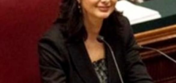 Laura Boldrini a Montecitorio