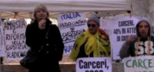 Rita Bernardini a Montecitorio