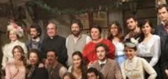 Il cast della soap opera il Segreto