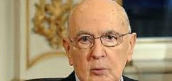 Il Presidente Giorgio Napolitano