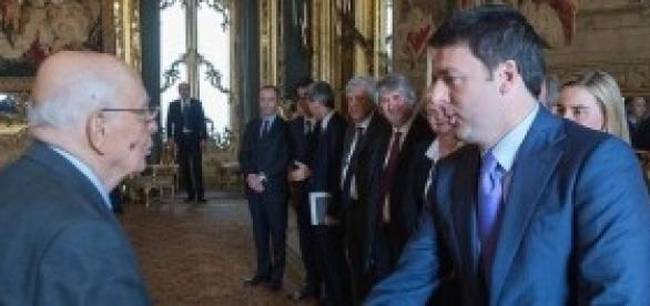 Indulto e amnistia 2014, Renzi e Napolitano