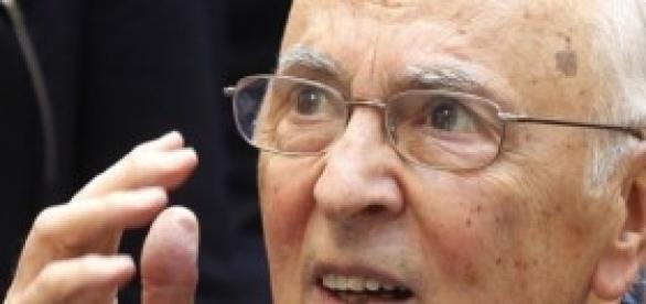 Giorgio Napolitano vuole l'acquisto degli F35